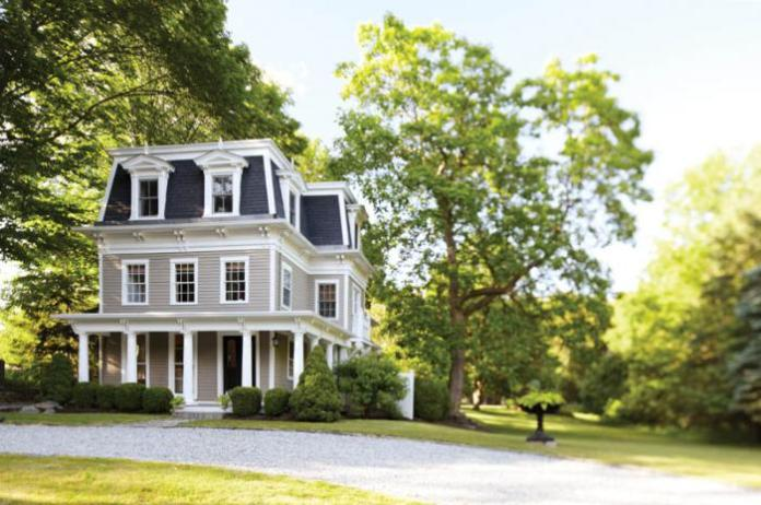 Fairfield County Federal Style Front Exterior