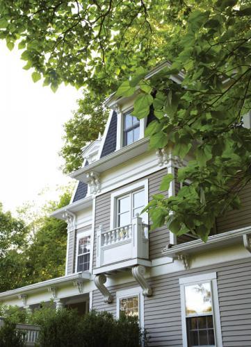 Fairfield County Federal Style Exterior