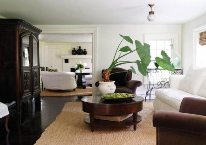 Fairfield County Federal Style Living Room