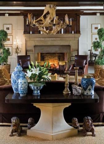 Tammy Randall Wood fireside room