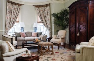 Anne Becker living room