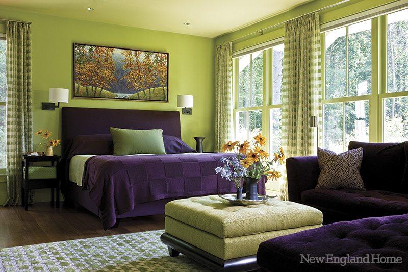 Susan B. Acton Interiors master bedroom