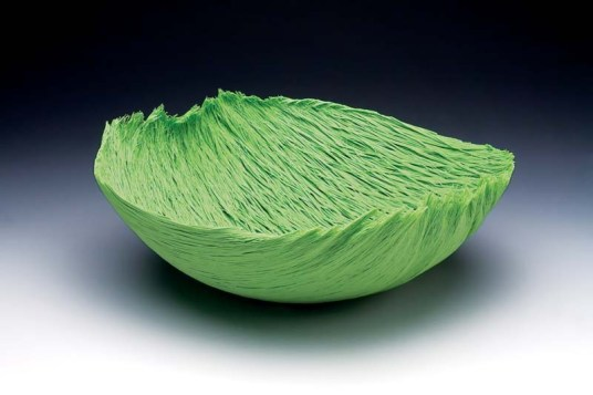 "Spring Grass (1983), filet-deverre, 5""H"