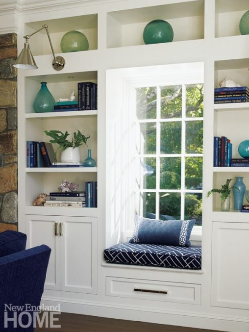 Brooks & Falotico New Canaan Window Seat