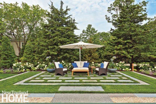 Dan Godron Mid-Cape Landscape Design Seating Area