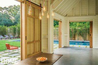 Kimberly Mercurio Cape Cod Landscape Design Barn Interior