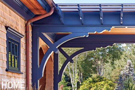 Rhode Island Shingle Style Exterior Details