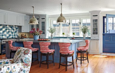 Rhode Island Shingle Style Kitchen