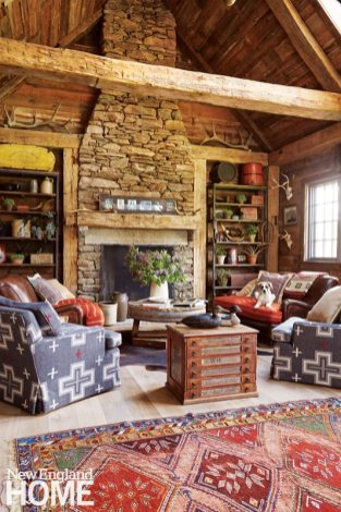 Perkins Morris Litchfield County Family Room