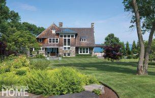 Jamestown Shingle Style Exterior