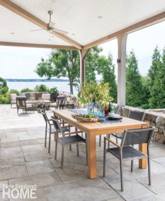 Jamestown Shingle Style Porch