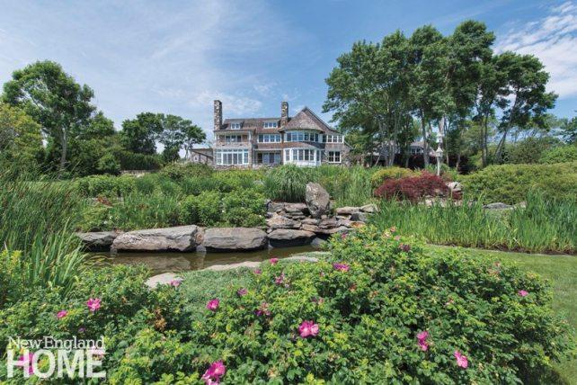 Jamestown Shingle Back Garden