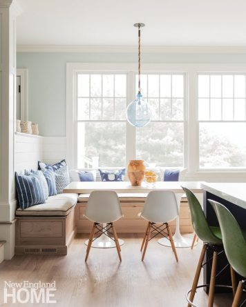 Contemporary kitchen eating nook