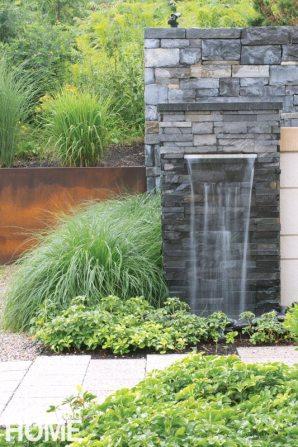Gregory Lombardi contemporary landscape fountain