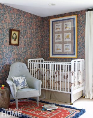 Nursery with William Morris Paper