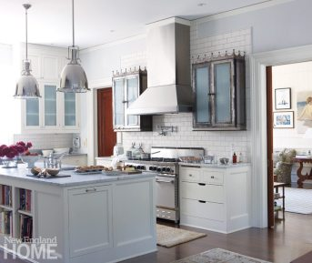Litchfield County Neoclassical Kitchen