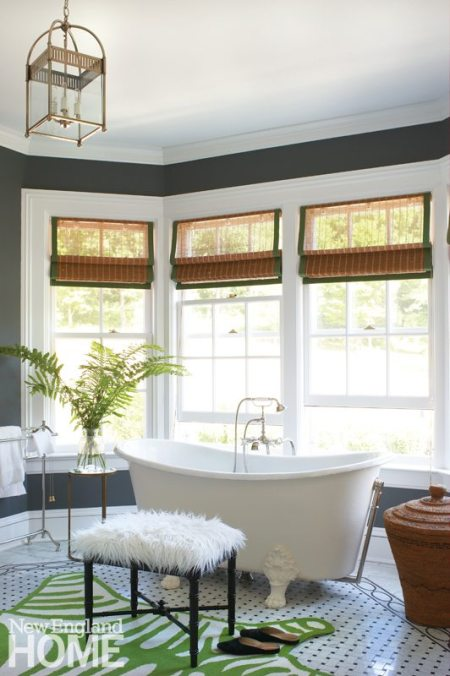 Litchfield County Neoclassical Master Bathroom