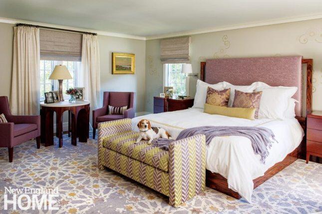 Lda Architects Wellesley Tudor-Style Home Master Bedroom