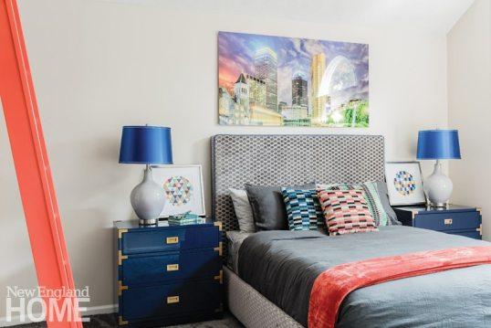 Vibrant Family Home Boy's Room