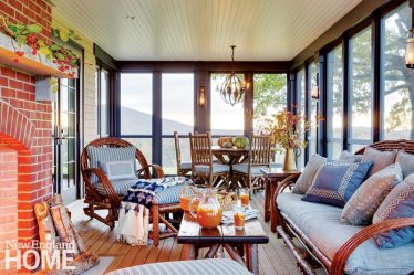 Sheldon Penoyer New Hampshire Screened Porch