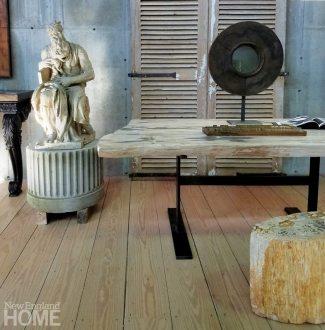 Circa 1900 cast plaster figure