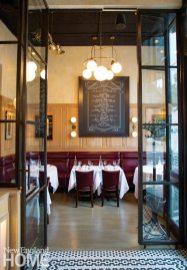 Aquitaine Boston Dining Area