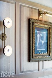 Aquitaine Boston Brass Sconces