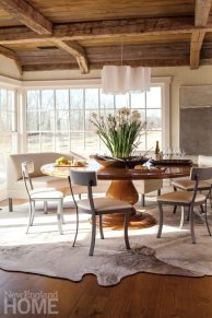 Rustic Farmhouse Washington Connecticut Dining Room