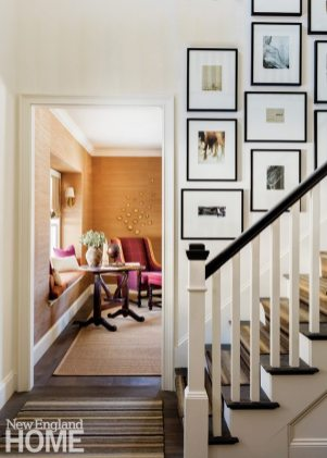 Neutral and Sophisticated home in Concord, Massachusetts Entryway