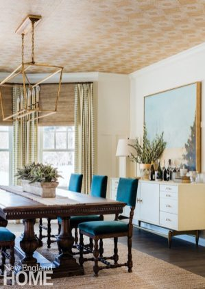 Neutral and Sophisticated home in Concord, Massachusetts Dining Room