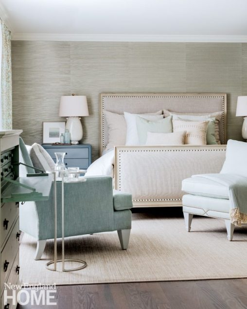 Neutral and Sophisticated home in Concord, Massachusetts Master Bedroom