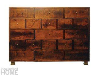 York Street Studio Walnut Cabinet