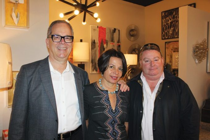 Wakefield Design Center George Snead, Beth Dempsey, and Parker Rogers