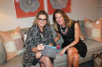 Wakefield Design Center to The Trade uanita Strassfield with New England Home's Stacy Kunstel