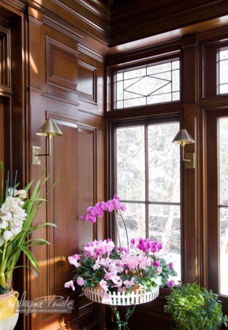 Wayne Towle Wood and Furniture Refinishing Paneled Solarium