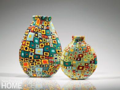 Robin Mix Hundertwasser Vases