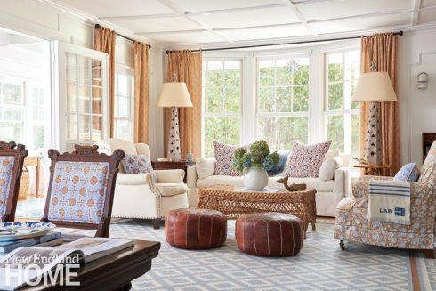 Coastal Maine Living Room