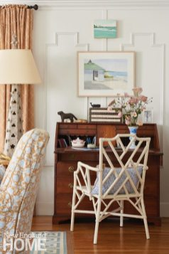 Coastal Maine Writing Desk Area