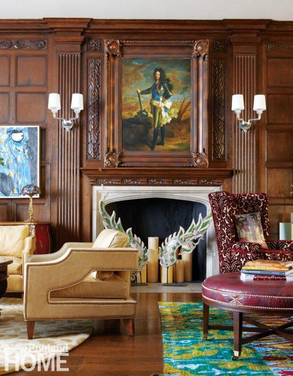 Kellie Burke Living Room Fireplace