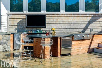 Outdoor Entertaining Space Outdoor Kitchen