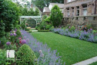 a Blade of Grass Classic Brookline Garden Side Garden
