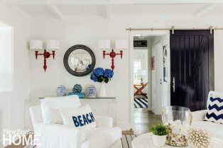 Cape Cod Cottage Family Room