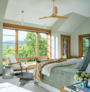 Stowe Vermont Master Bedroom