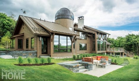 Stowe Vermont Rear Exterior