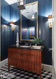 Gauthier Stacy Hingham Powder Room