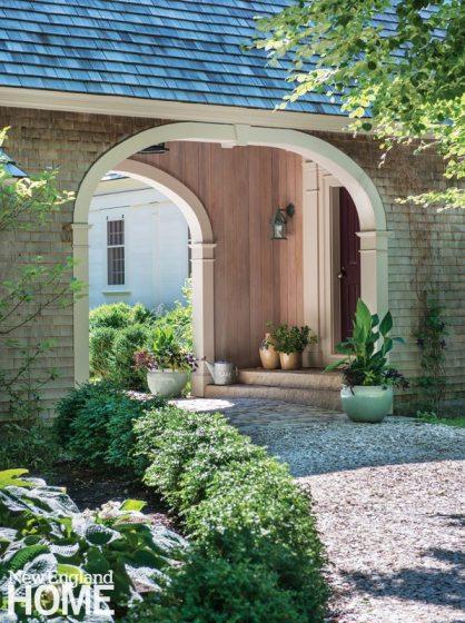 Sustainable Cape Cod Front Door