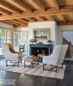Sustainable Cape Cod Living Room