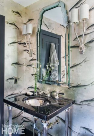 Sustainable Cape Cod Powder Room