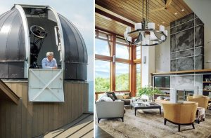 A Vermont Mountain Home for Stargazing