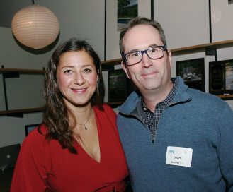 Jen Stephens of Matthew Cunningham Landscape Design and Eric Hill from brookes + hill
